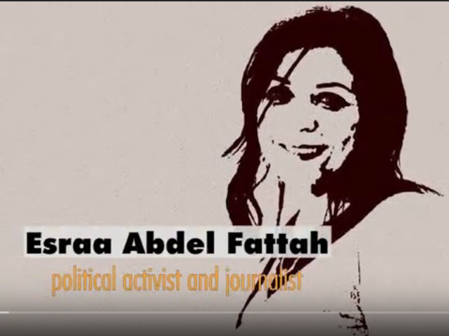 Activist Israa Abdel-Fattah has been detained in the Egyptian prison since October 12, 2019.